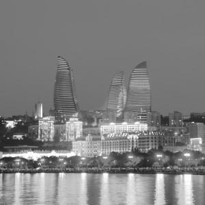Azerbaijan b&w