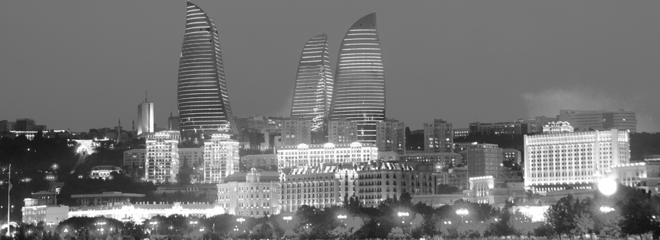 Azerbaijan flame towers
